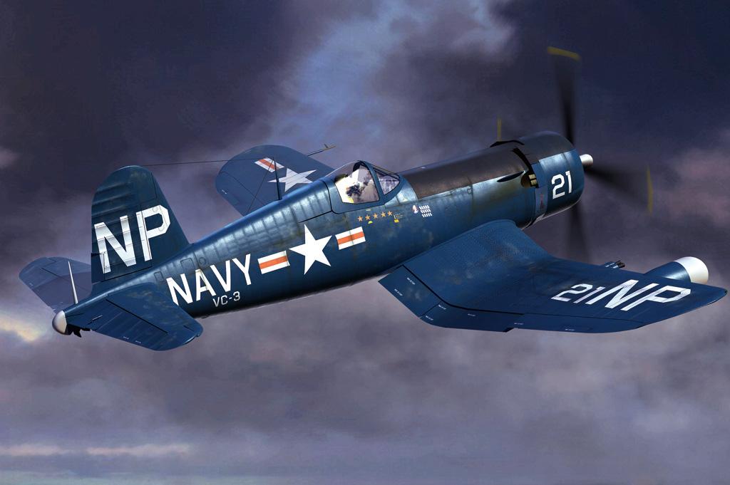 Hobby Boss 1/48 F4U-5N Corsair early version
