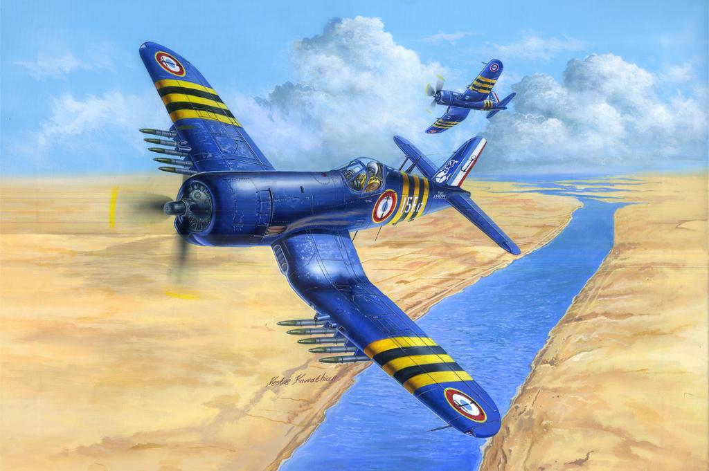 Hobby Boss 1/48 F4U-7 Corsair FRENCH NAVY