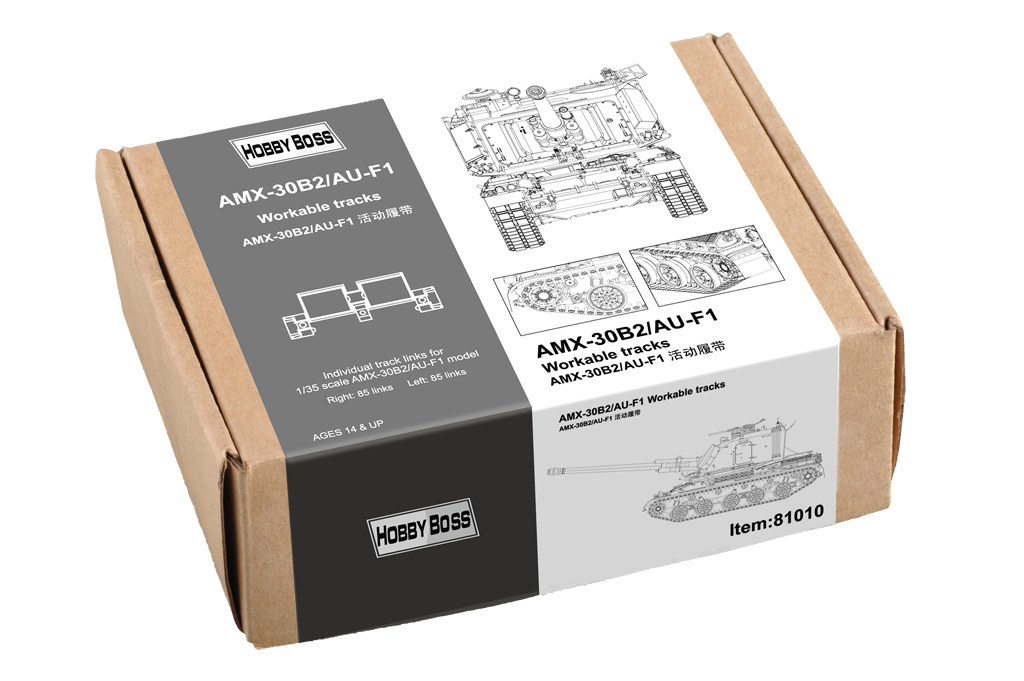 Hobby Boss 1/35 AMX-30B2/AU-F1 Workable Tracks