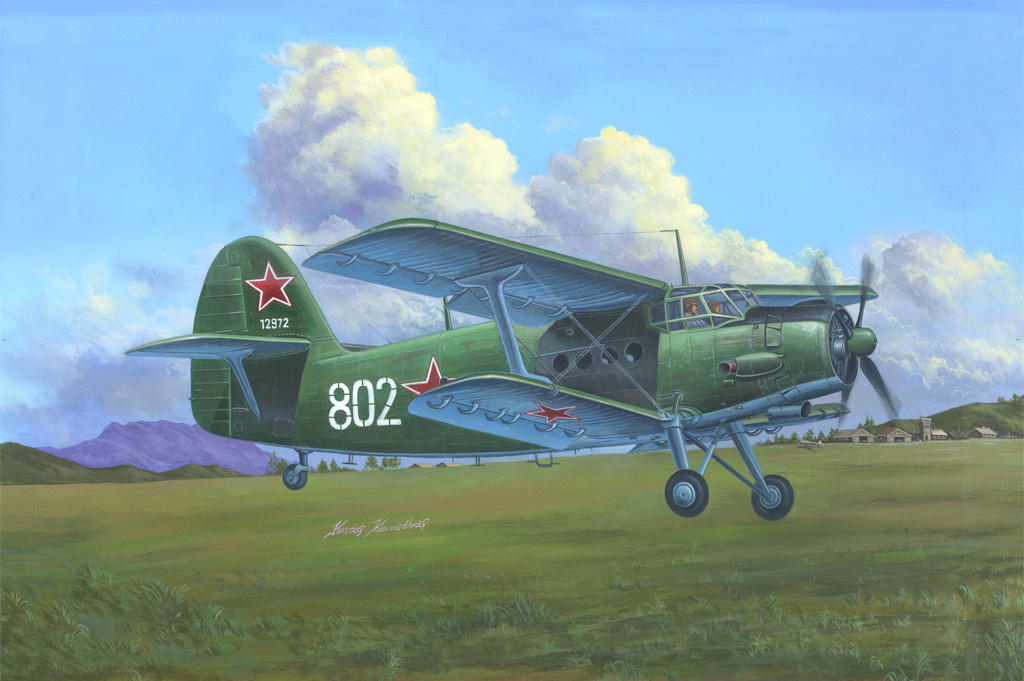 Hobby Boss 1/48 Antonov AN-2/AN-2CX Colt