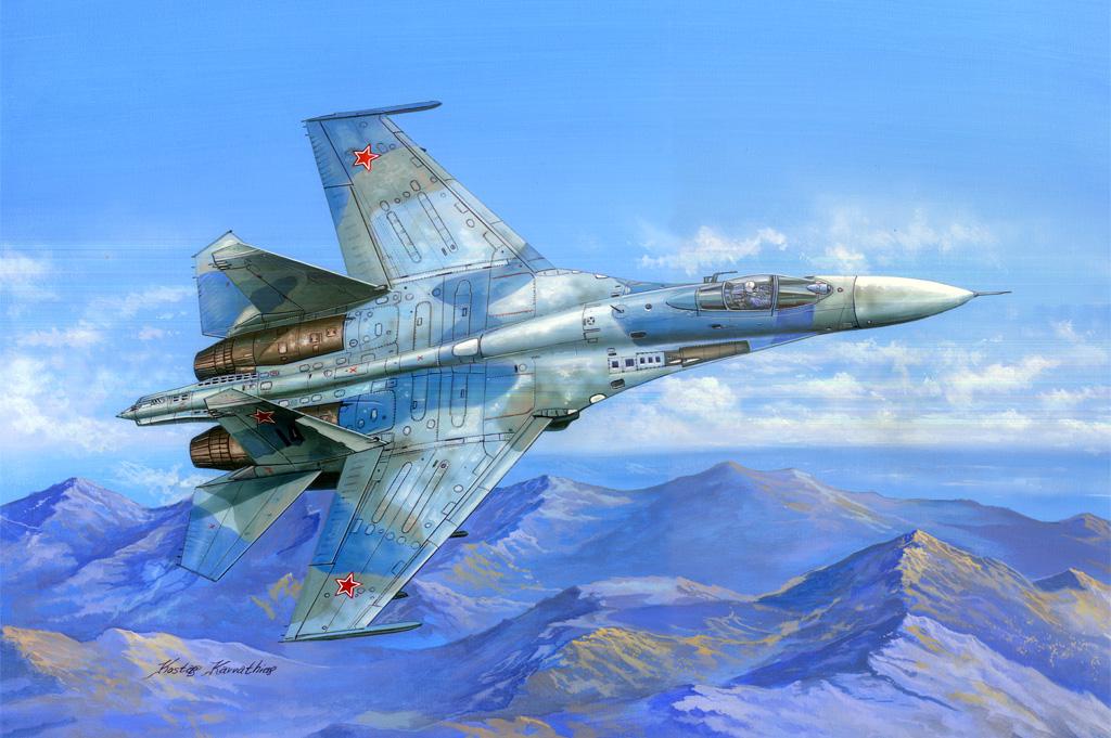 Hobby Boss 1/48 Su-27 Flanker B
