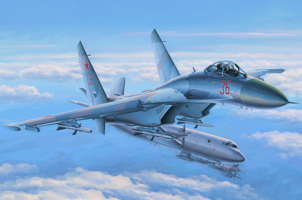 Hobby Boss Su-27 Flanker Early