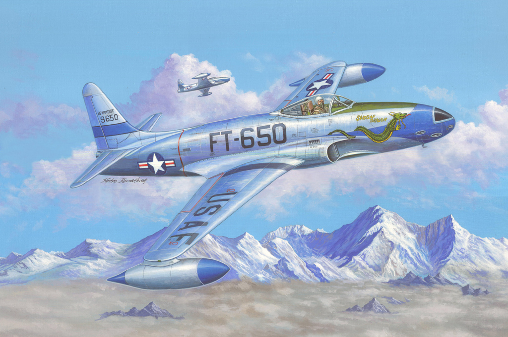 Hobby Boss F-80C Shooting Star fighter
