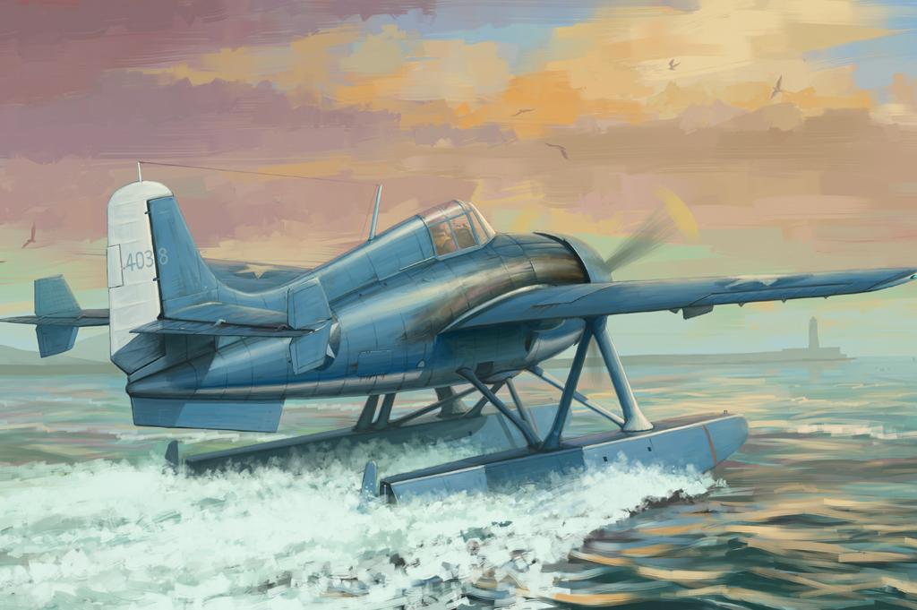 Hobby Boss 1/48 F4F-3S Wildcatfish