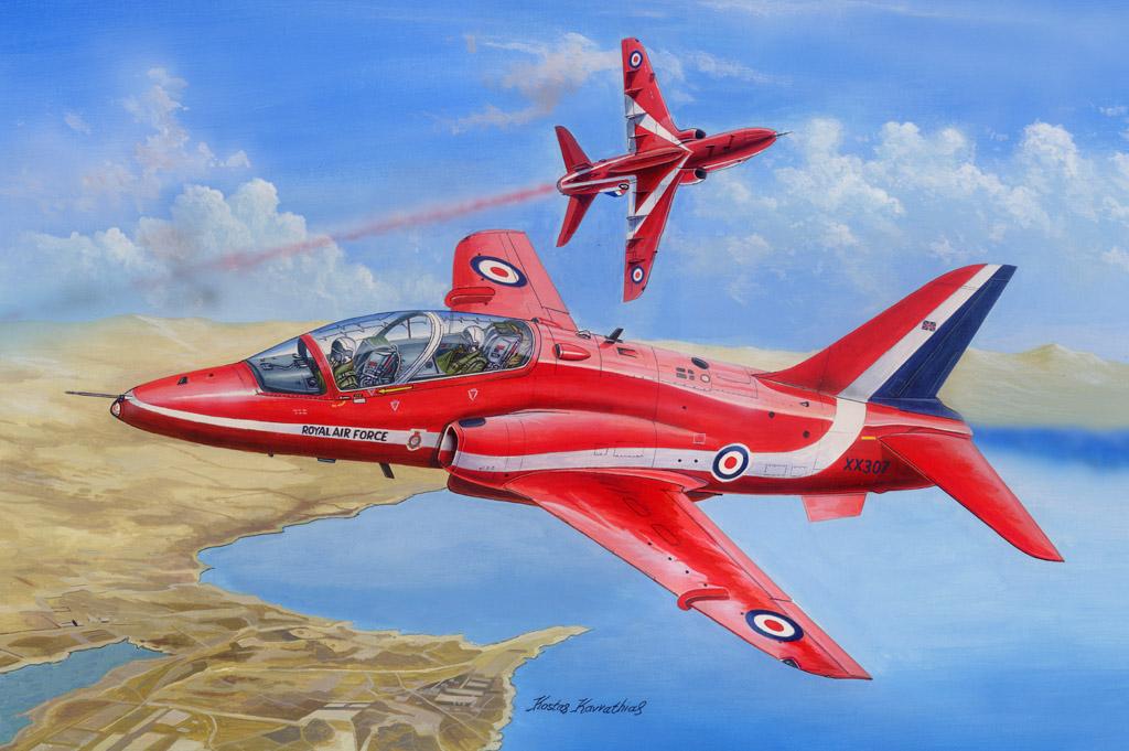 Hobby Boss 1/48 RAF Red Arrows Hawk T MK.1/1A
