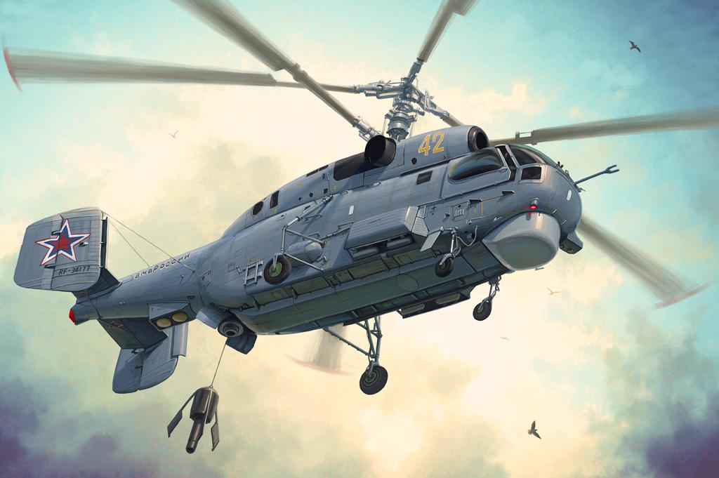 Hobby Boss 1/48 Russian Ka-27 Helix