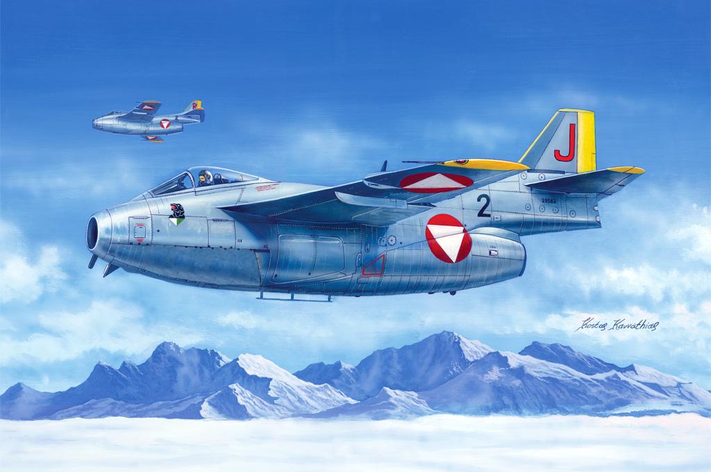 Hobby Boss 1/48 J-29F  Tunnan