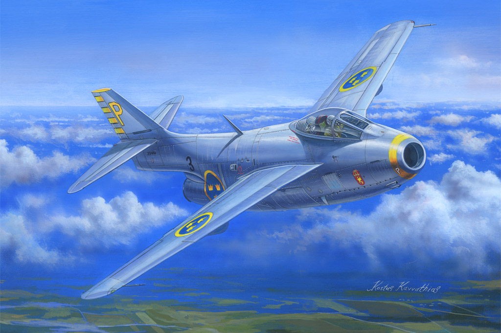 Hobby Boss 1/48 J-29B  Tunnan