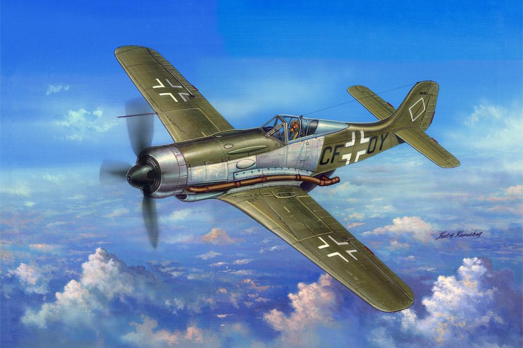 Hobby Boss 1/48 Focke-Wulf FW 190 V18