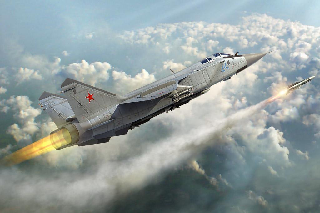 Hobby Boss 1/48 Russian MiG-31 Foxhound