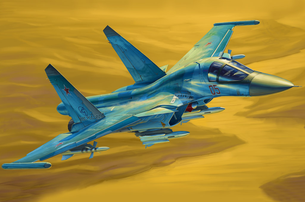 Hobby Boss Russian Su-34 Fullback Fighter-Bomber