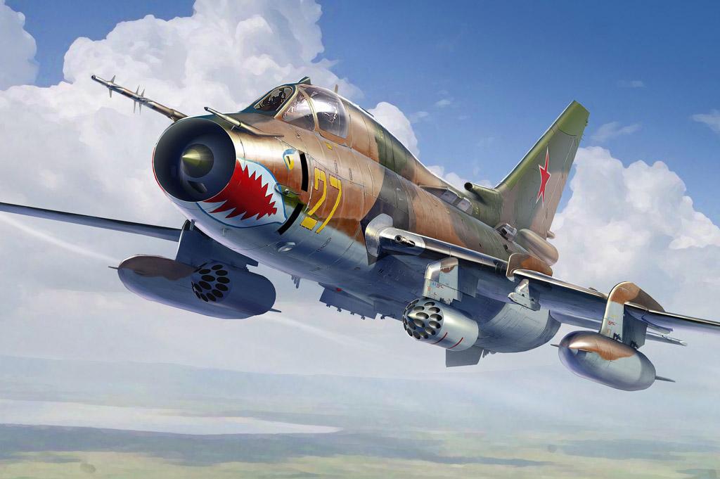 Hobby Boss 1/48 Su-17M4 Fitter-K