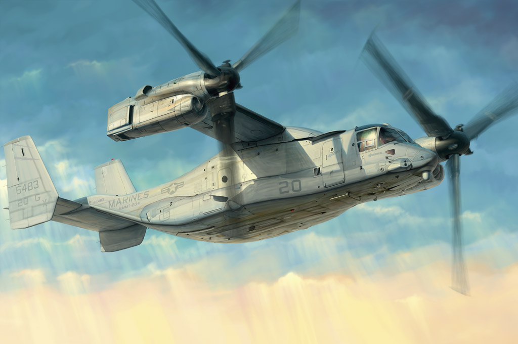 Hobby Boss 1/48 MV-22 Osprey