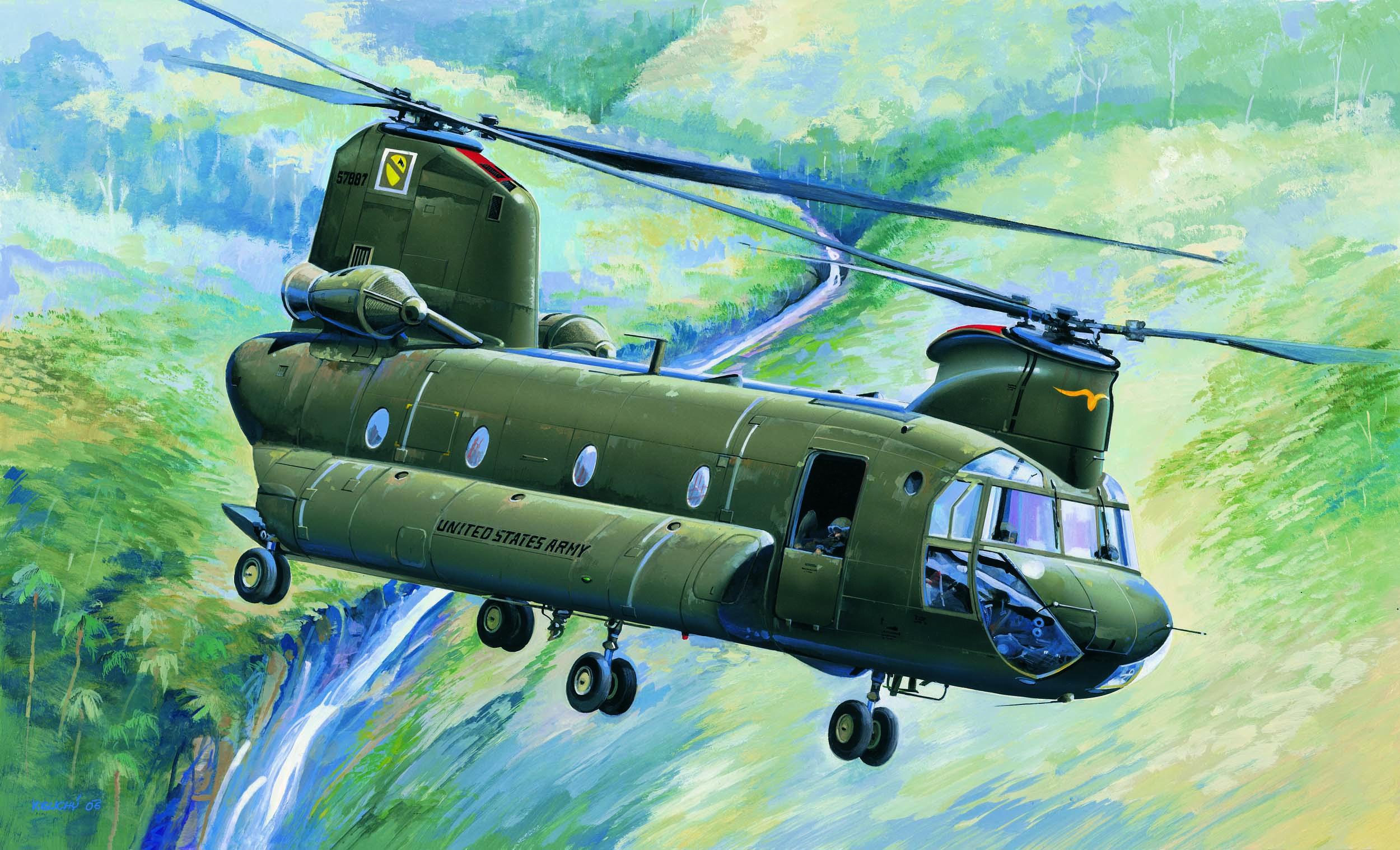 Hobby Boss 1/48 CH-47A Chinook