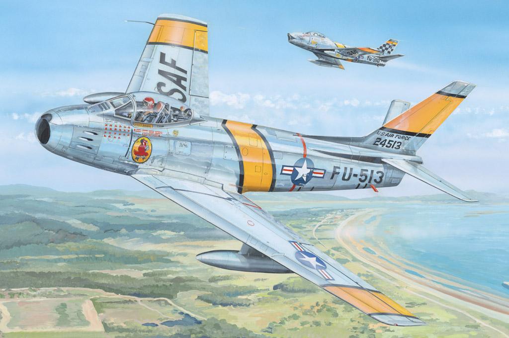 "Hobby Boss  1/18 F-86F-30 ""Sabre"""