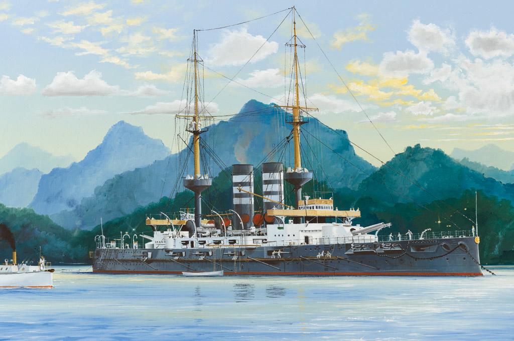 Hobby Boss 1/200 IJN Japanese Battleship Mikasa 1902