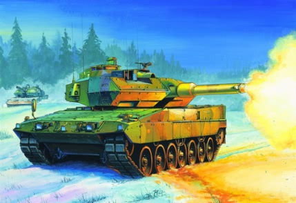 Hobby Boss Swedish Strv.122  Tank