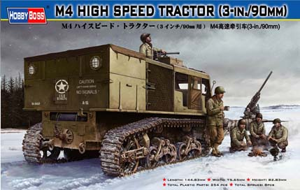Hobby Boss M4 HIGH SPEED TRACTOR(3-in./90mm)