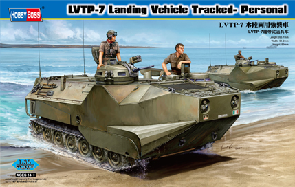 Hobby Boss 1/35 LVTP-7 Landing Vehicle, Tracked Personnel Carrier