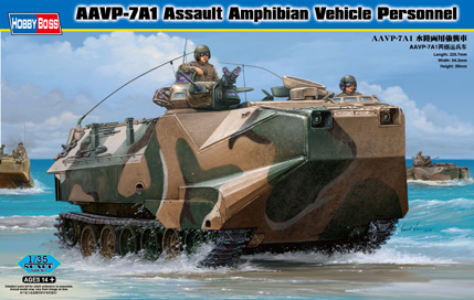 Hobby Boss  AAVP-7A1 Assault Amphibian Vehicle Personnel
