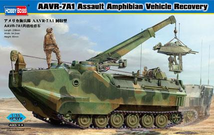 Hobby Boss 1/35 AAVR-7A1 Assault Amphibian Vehicle Recovery