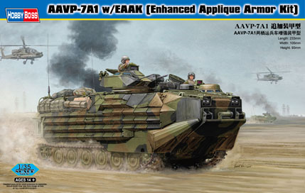 Hobby Boss AAVP-7A1 w/EAAK (Enhanced Applique Armor Kit)