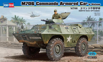 Hobby Boss M706 Commando Armored Car in Vietnam