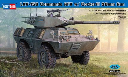Hobby Boss 1/35 LAV-150 Commando AFV w/ Cockerill 90mm Gun