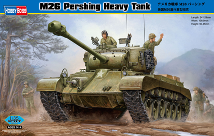 Hobby Boss M26 Pershing Heavy Tank