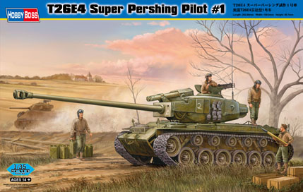 Hobby Boss T26E4 Super Pershing Pilot #1