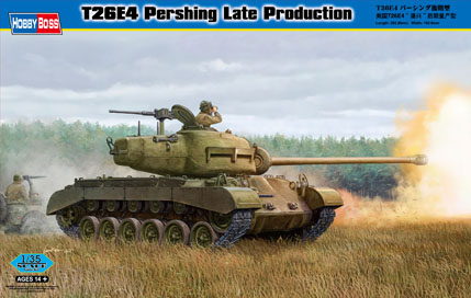 Hobby Boss T26E4 Pershing Late Production