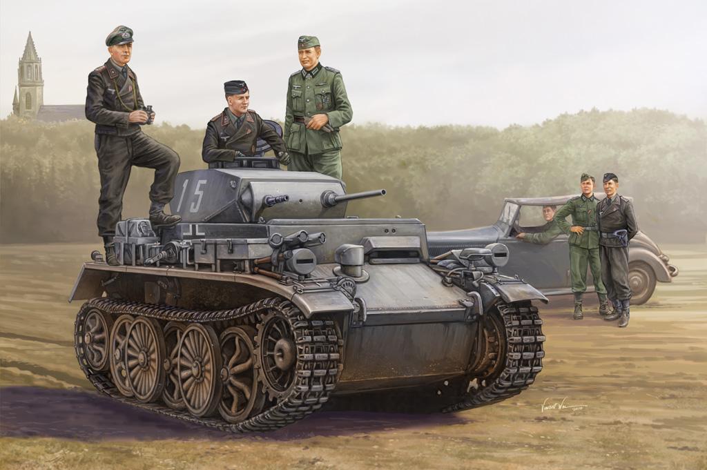 Hobby Boss 1/35 PzKpfw.I Ausf.C (VK 601)