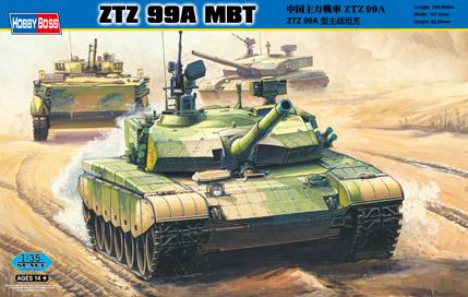 Hobby Boss 1/35 PLA ZTZ 99A MBT