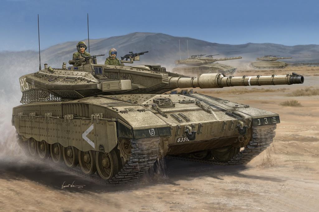 Hobby Boss IDF Merkava Mk.IIID