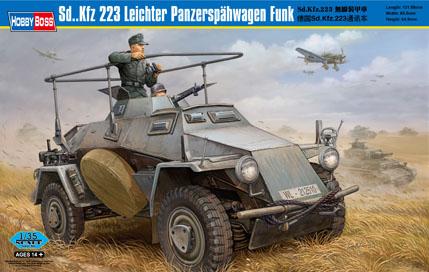 Hobby Boss 1/35 Sd.Kfz.223 Leichter Panzerspahwagen Funk
