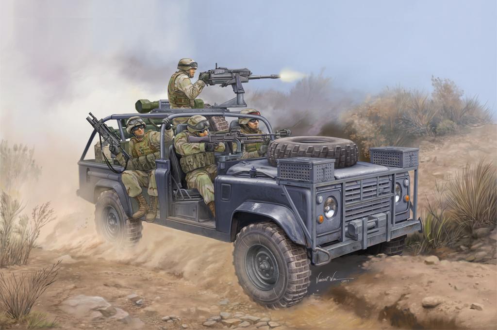Hobby Boss 1/35 RSOV with MK 19 Grenade Launcher