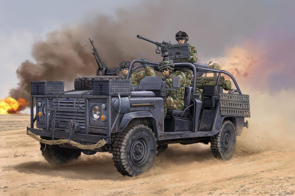 Hobby Boss 1/35 Ranger Special Operations Vehicle RSOV w/MG