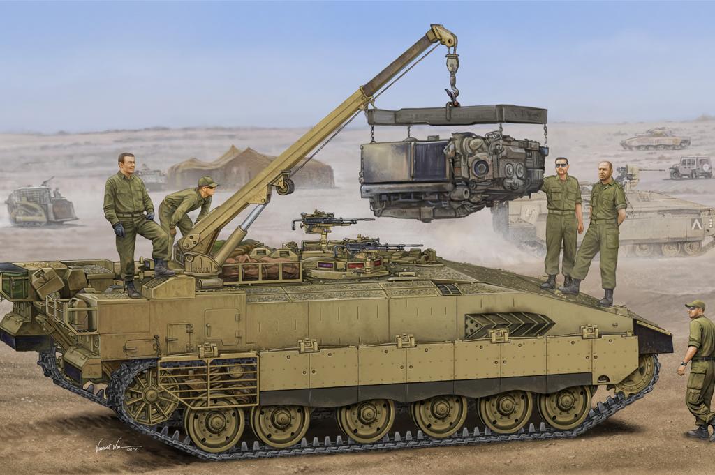 Hobby Boss 1/35 Israeli Merkava ARV