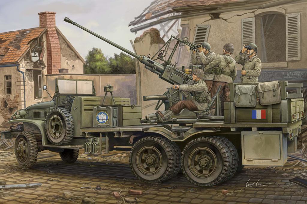 Hobby Boss 1/35 GMC Bofors 40mm Gun