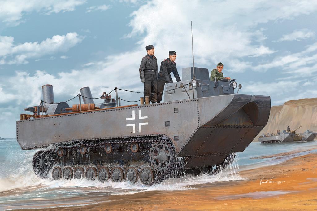 Hobby Boss 1/35 German Land-Wasser-Schlepper II-Prototype