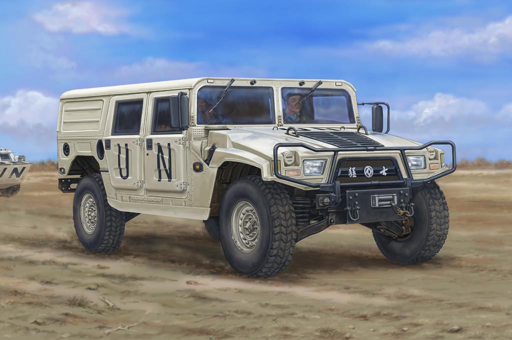 Hobby Boss 1/35 Dong Feng Meng Shi 1.5 ton Military Light Utility Vehicle- Hardtop Version A