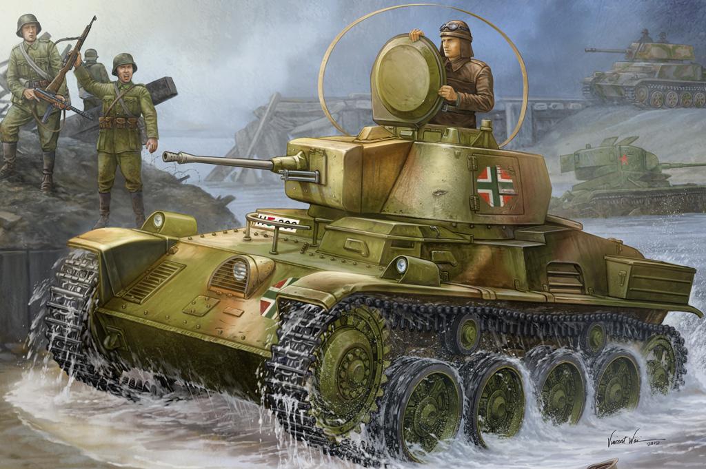 Hobby Boss 1/35 Hungarian Light Tank 38M Toldi I (A20)