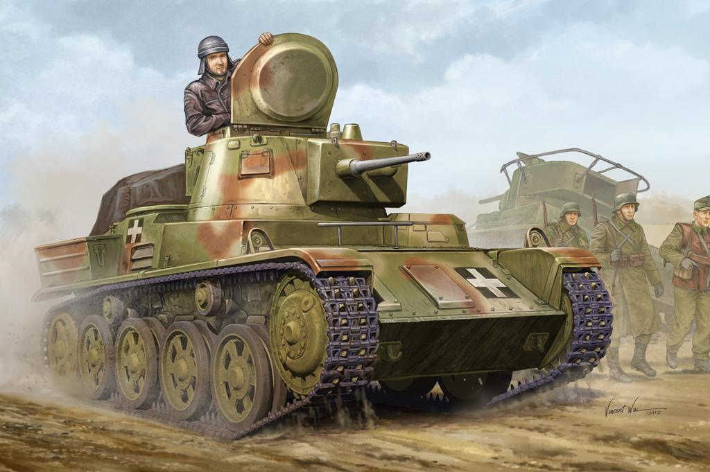 Hobby Boss 1/35 Hungarian Light Tank 38M Toldi II (B40)