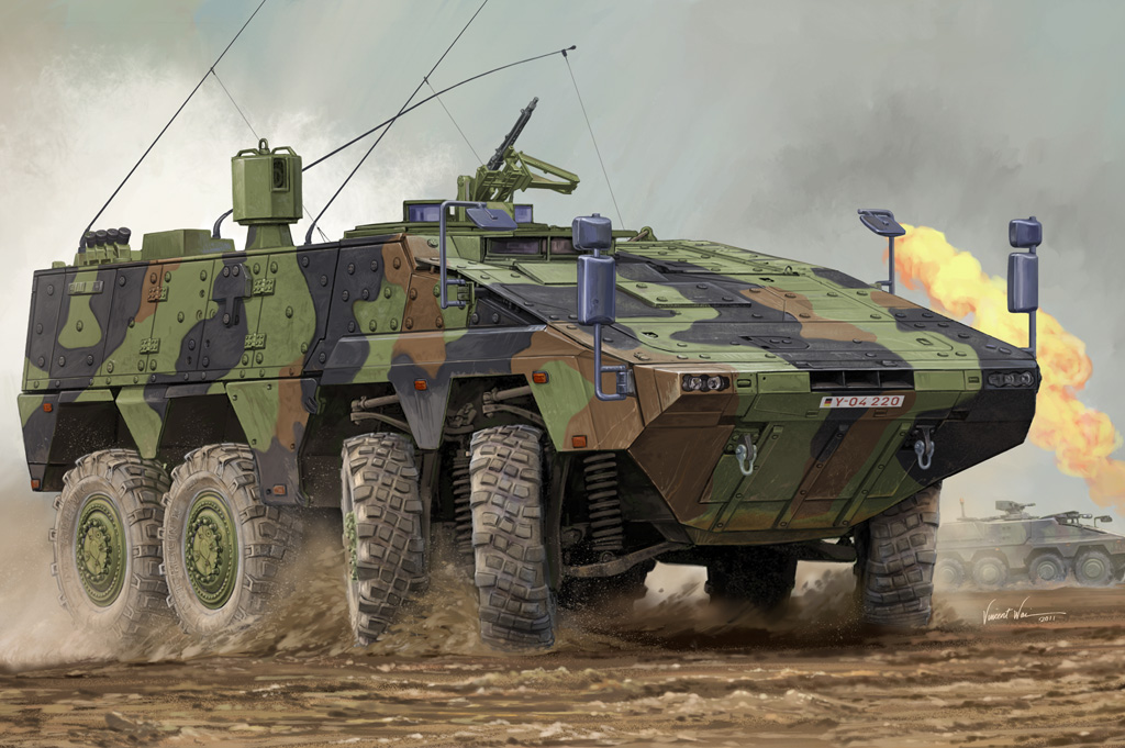 Hobby Boss German Boxer MRAV