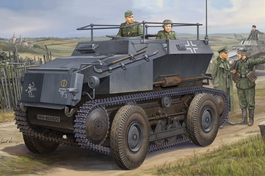 Hobby Boss German Sd.Kfz.254 Tracked Armoured Scout Car