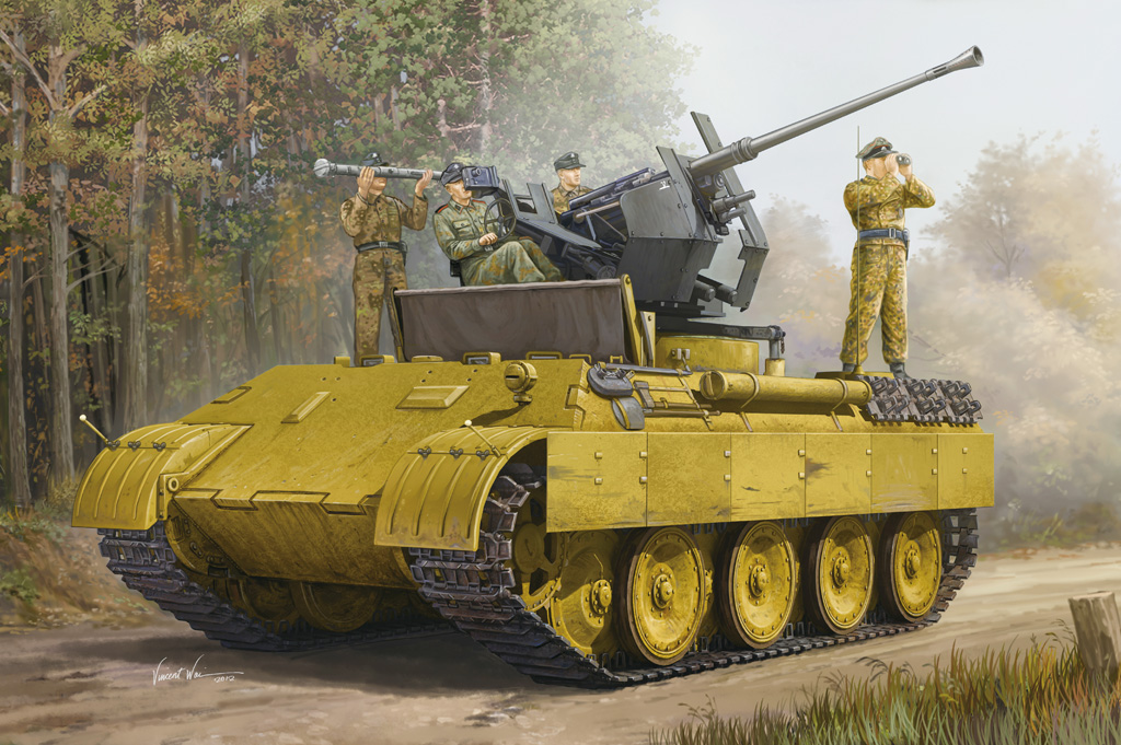 Hobby Boss German Panther Ausf.D Flak Bergepanther