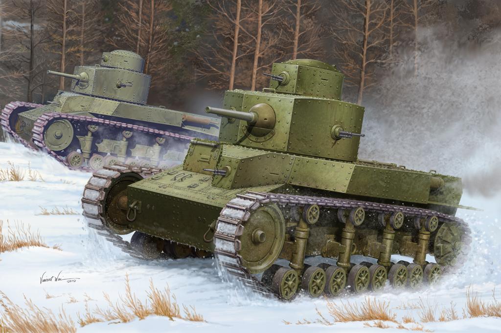Hobby Boss 1/35 Soviet T-24 Medium Tank