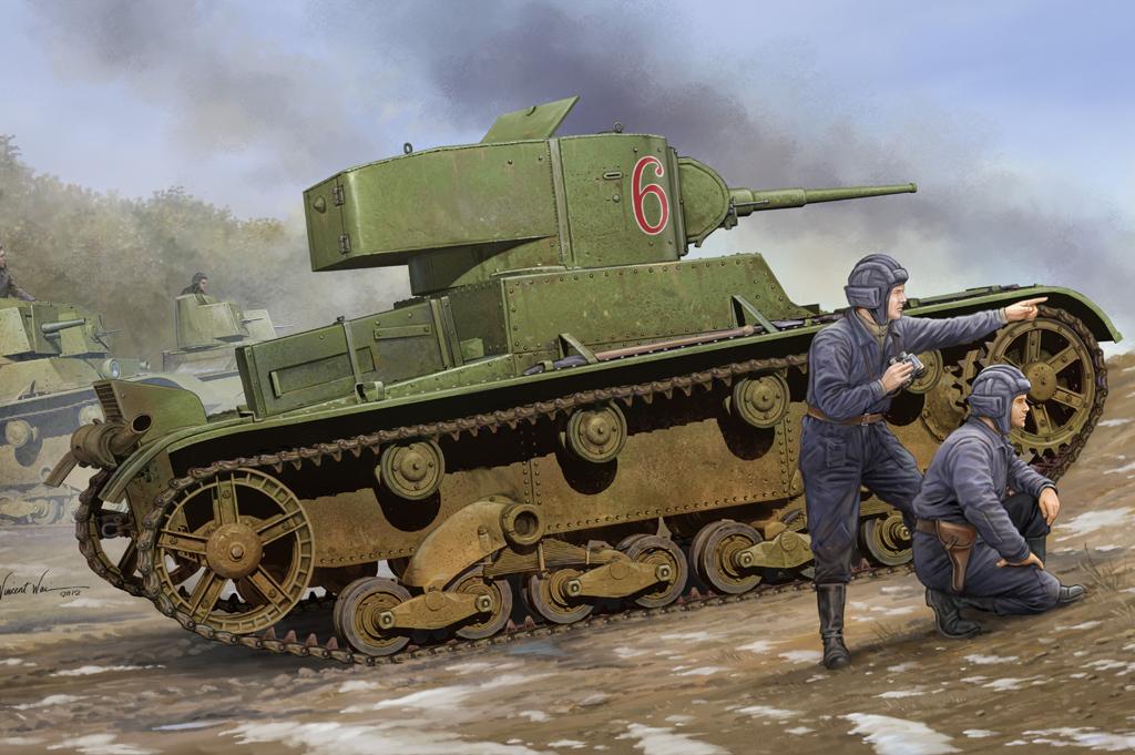 Hobby Boss 1/35 Soviet T-26 Light Infantry Tank Mod.1933