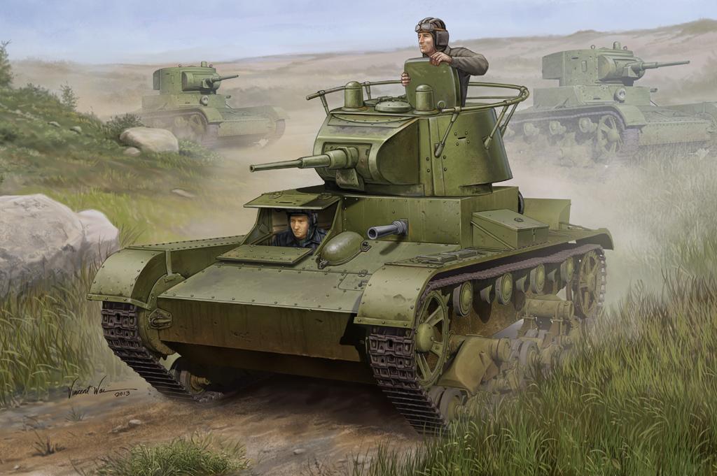 Hobby Boss 1/35 Soviet T-26 Light Infantry Tank Mod.1938