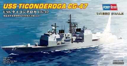 Hobby Boss 1/1250 USS Ticonderoga CG-47